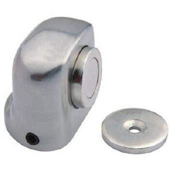 Trio Khan Magnetic Doorstop Chrome Plated 38mm