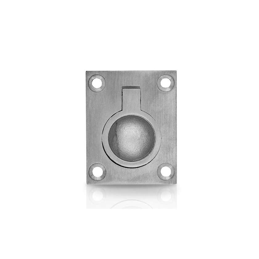 Trio Cabinet Pull Ring Chrome Plated 48 x 38mm