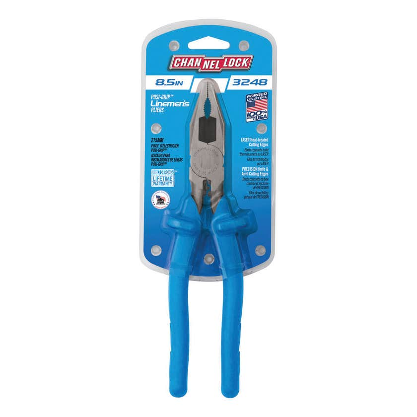 Channellock Insulated Linesman's Pliers 216mm