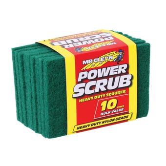 Mr Clean Power Scrub - 10 Pack