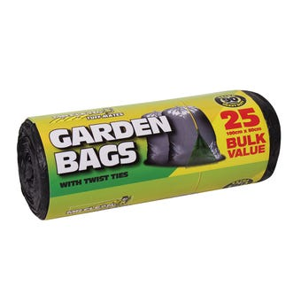 Mr Clean Garden Bag 90L - 25 Pack
