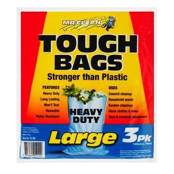 Mr Clean Tough Bag Large - 3 Pack