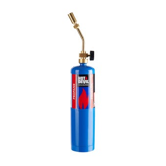 Hot Devil Propane Torch Kit with Hand Sparker