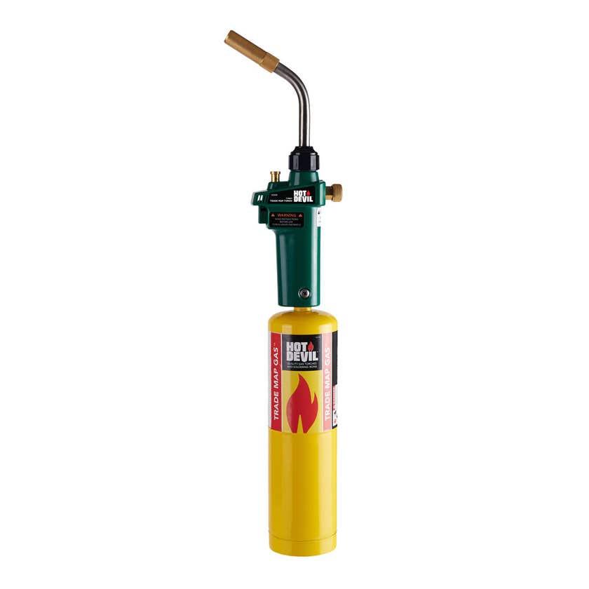 Hot Devil Torch Kit Turbo Trade Map Gas