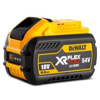 DeWALT 18V-54V 9.0Ah XR Flexvolt Li-Ion Battery