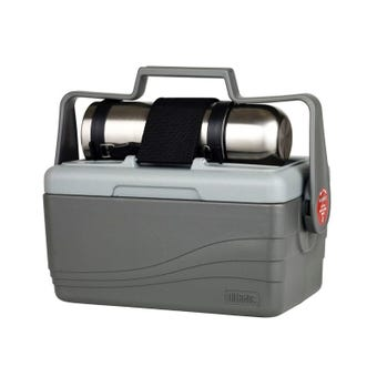 Thermos® 6.6L Lunch Lugger™ - 6.6L Cooler with 1L Stainless Steel Flask