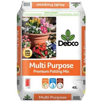 Debco Multi-Purpose Premium Potting Mix 40L