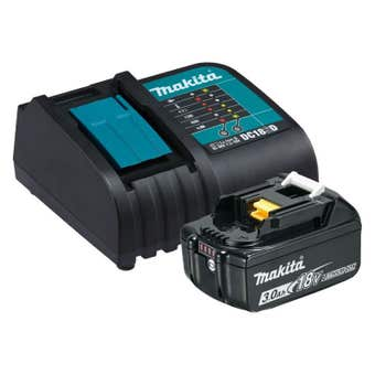 Makita Standard Battery Charger with 3.0Ah Battery