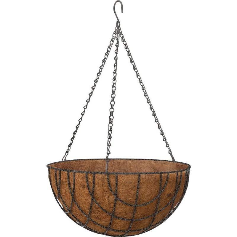 Takasho Hanging Basket Hammertone 30cm