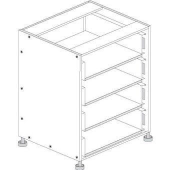 Principal Drawer Cabinet 450mm 4 Drawers