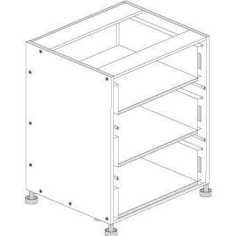 Principal Drawer Cabinet 600mm 3 Drawers