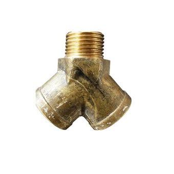 Mildon Double Tap Adaptor Y Piece 15mm