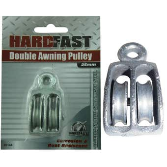 Hardfast Double Awning Pulley 20mm