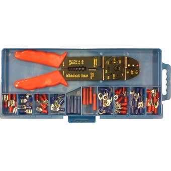 Work Force Crimping Tool Kit 60 Terminals