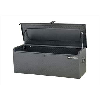 Storage Geelong Diamond Plate Flush Lid Toolbox 1050mm