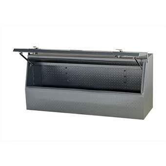 Storage Geelong Upright Ute Box Grey 1500mm x 500mm x 700mm