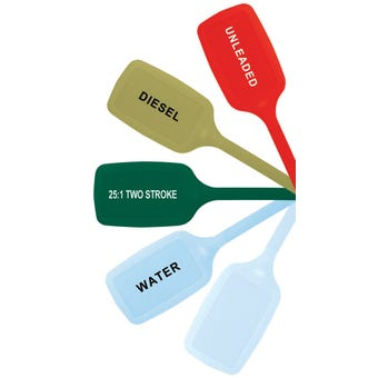 Pro Quip Fuel ID Tags - 5 Pack