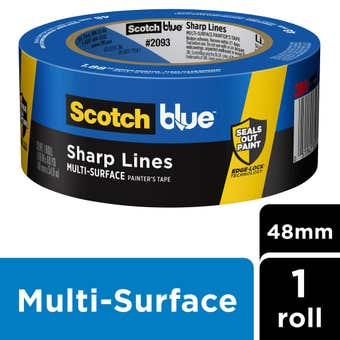 Scotch Blue Sharp Lines Multi-Surface Masking Tape 48mm x 55m