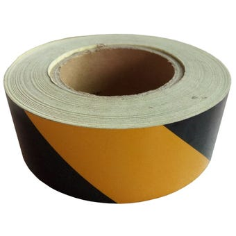 Medalist Reflect Adhesive Tape Yellow & Black 50mm x 10m