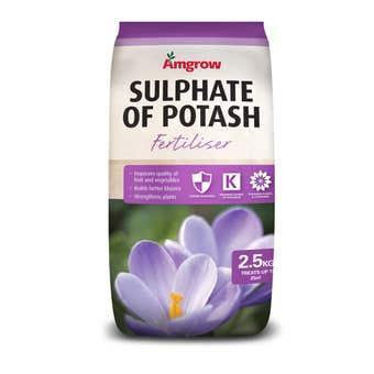 Amgrow Sulphate of Potash Fertiliser 2.5kg