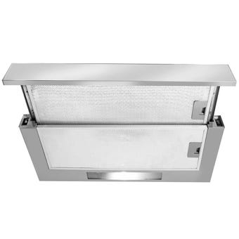 Artusi Slideout Rangehood 270m3/hr Airflow 600mm