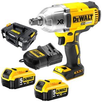 DeWALT 18V 5.0Ah XR Li-Ion Brushless Wrench Kit DCF899P2-XE