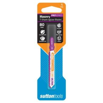 Sutton Tools T-Shank Jigsaw Blade Carbide Grit Ultra 100mm