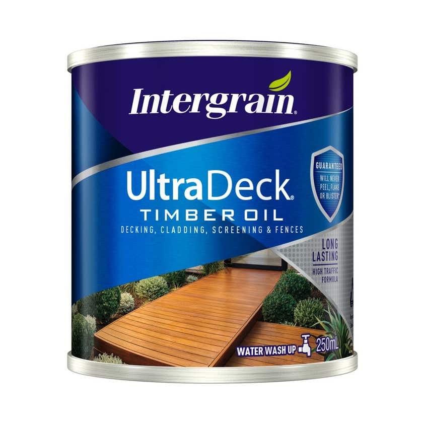 Intergrain UltraDeck Timber Oil Natural 250ml