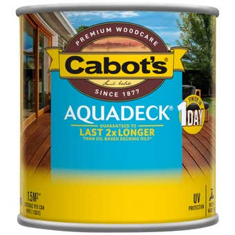 Cabot's Aquadeck Natural 250ml