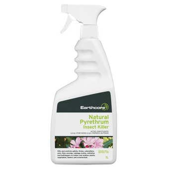 Earthcore Natural Pyrethrum Ready To Use Insect Killer 1L