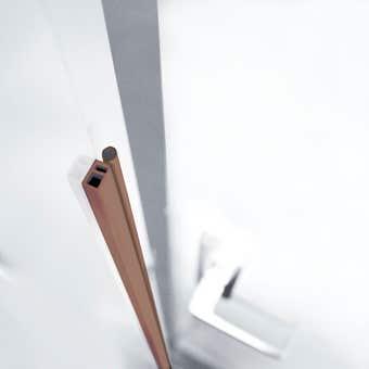 Cowdroy PVC Perimeter Door Seal Brown