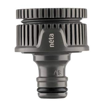 Neta Plastic Universal Tap Adaptor 12mm