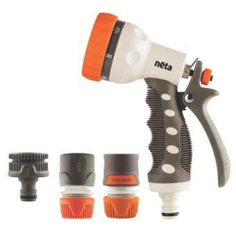 Neta Plastic Watering Gun Set 12mm