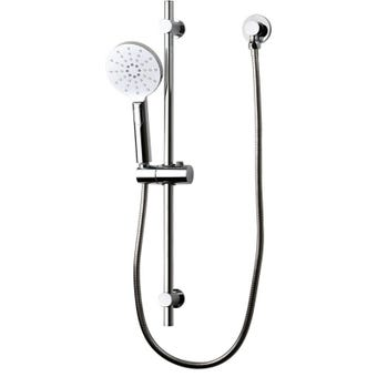 Brasshards Mixx Circa Builders Shower Rail Round