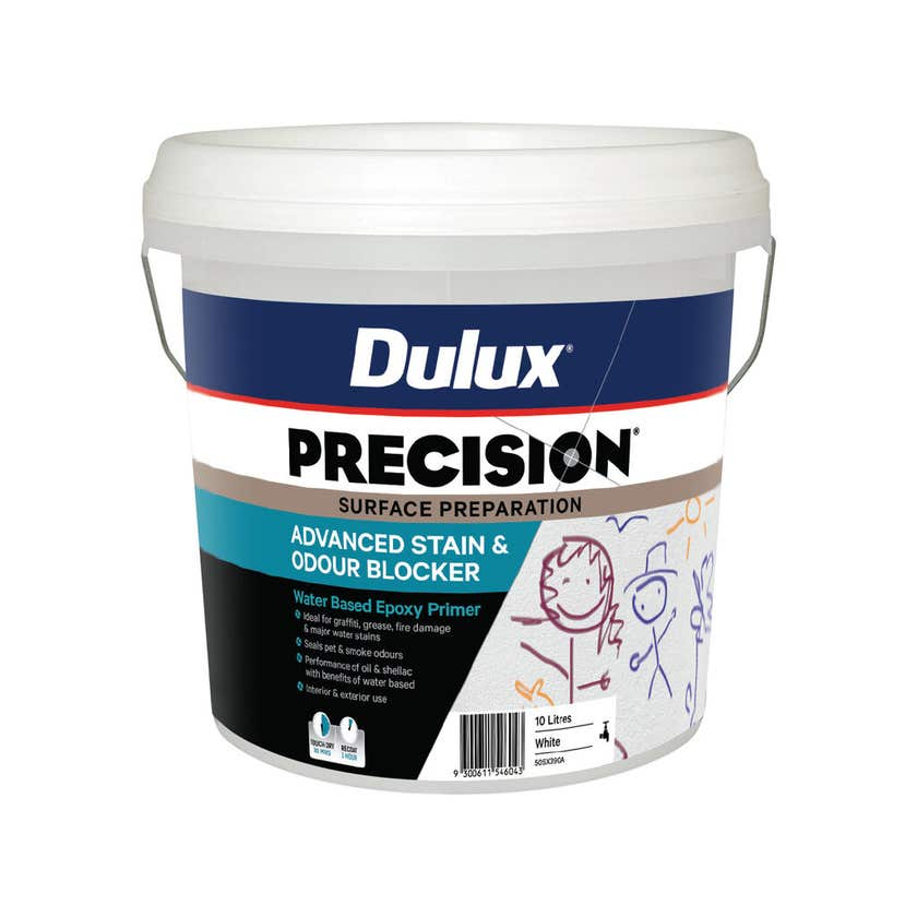 Dulux Precision Advanced Stain And Odour Blocker 10L