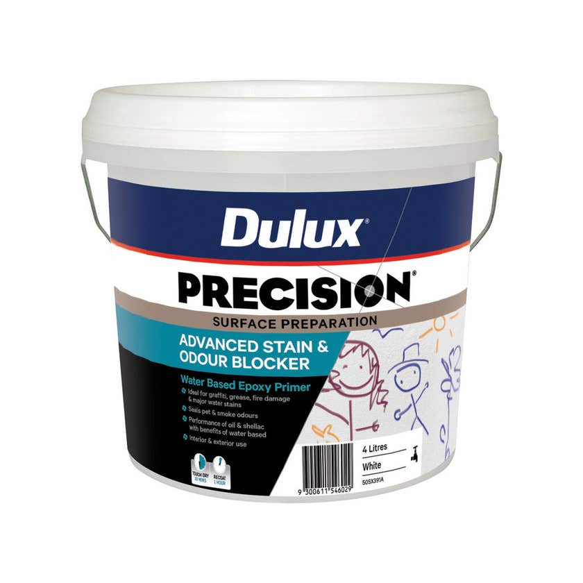 Dulux Precision Advanced Stain And Odour Blocker 4L