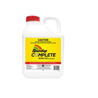 Roundup Complete Herbicide Concentrate 5L