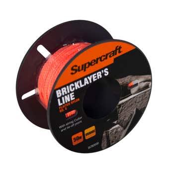 Supercraft Brickline Orange 50m