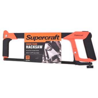 Supercraft Hacksaw Saw Square Frame 300mm