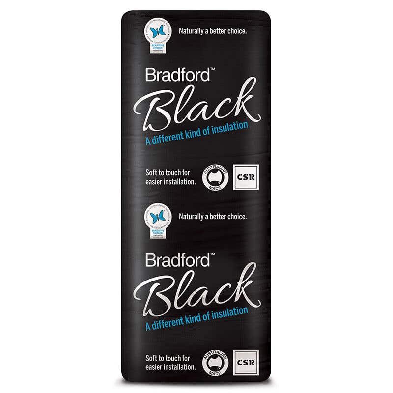 Bradford Black R2.0 Insulation Wall Batts 1160 x 430mm Pack 22