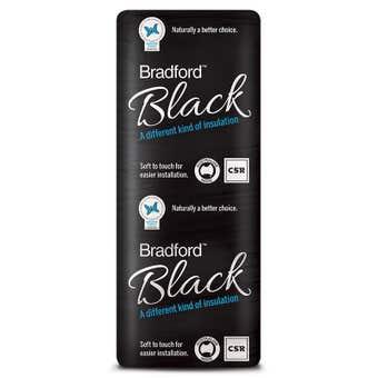 Bradford Black R5.0 Insulation Ceiling Batts 1160 x 430mm Pack 8