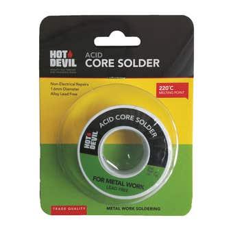 Hot Devil Acid Core Solder