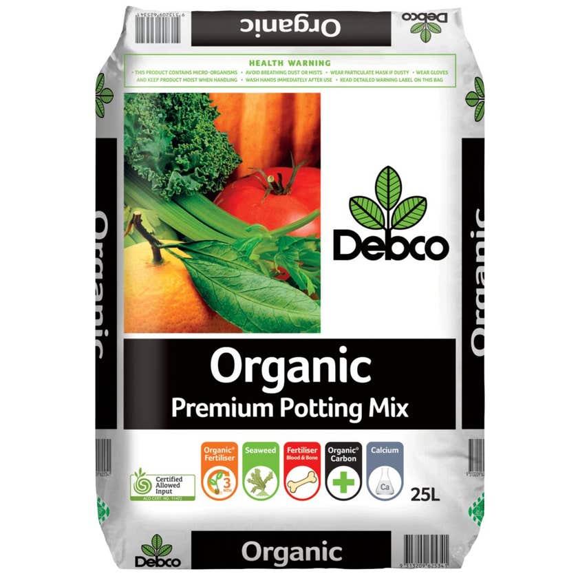 Debco Organic Premium Potting Mix 25L
