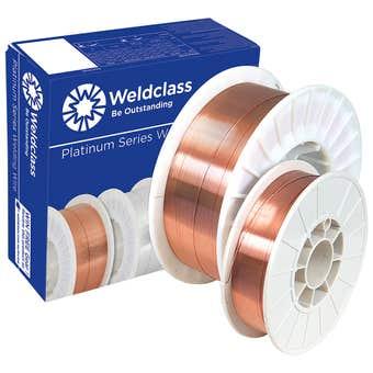 Weldclass Platinum XT6 Wire MIG or Steel 0.8mm 5kg