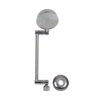 Brasshards All Directional Snap Lock Shower Chrome