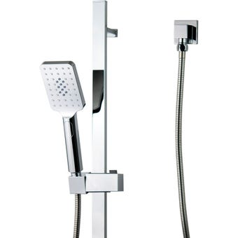 Brasshards Mixx Chai Shower Rail Square