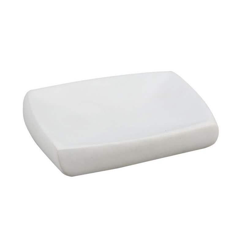 Interbath Rondel Soap Dish White