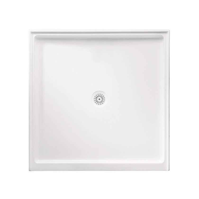 Marbletrend Flinders Polymarble Shower Base 1370 x 900mm