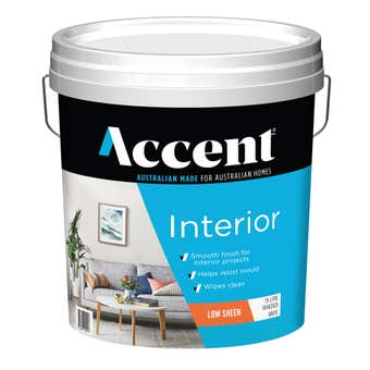 Accent Interior Low Sheen White 15L