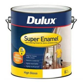 Dulux Super Enamel High Gloss Vivid White 2L